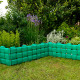 Декоративные заборчики для клумб в саду и на даче