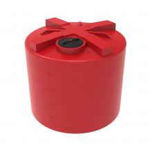 Емкость КАС 5000 TH красный