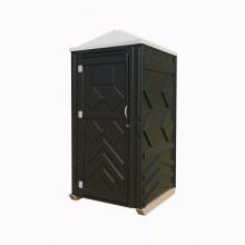 """Мобильная туалетная кабина """"Рециклинг"""" в разборе черная"""