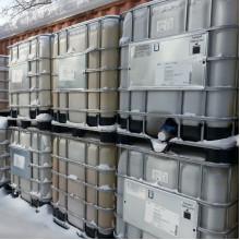 Еврокуб б/у - емкость для технической воды на 1000 литров